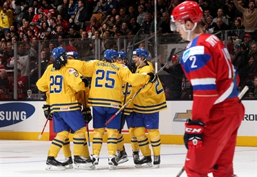 Nylander leads Sweden